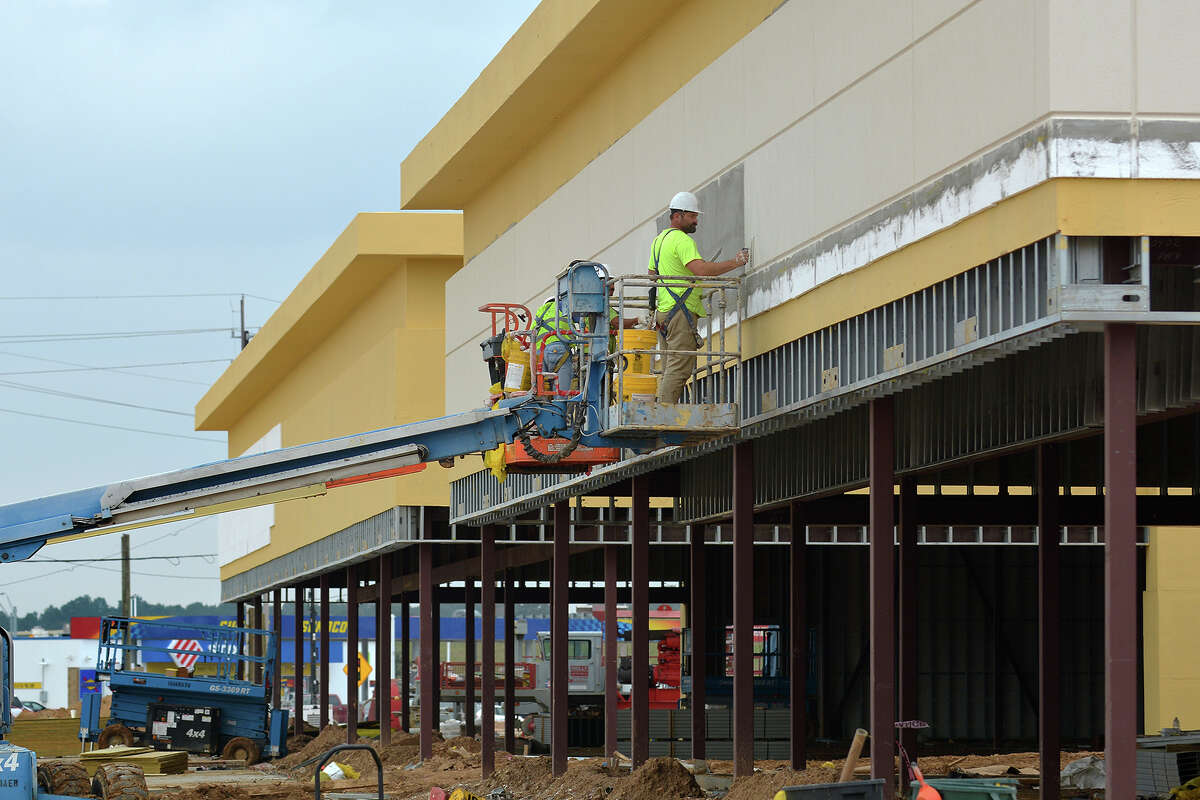 Construction is underway for the Grand Parkway Marketplace I, at Spring Stuebner and the Grand Parkway.
