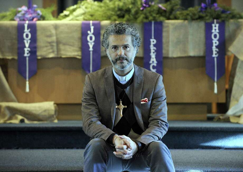 The Rev. Alex da Silva Souto, pastor of the New Milford United Methodist Church, told his congregation in May he is gay. The church just voted to become part of an 800-church, gay friendly, Methodist subset. Photo: Carol Kaliff / Hearst Connecticut Media / The News-Times