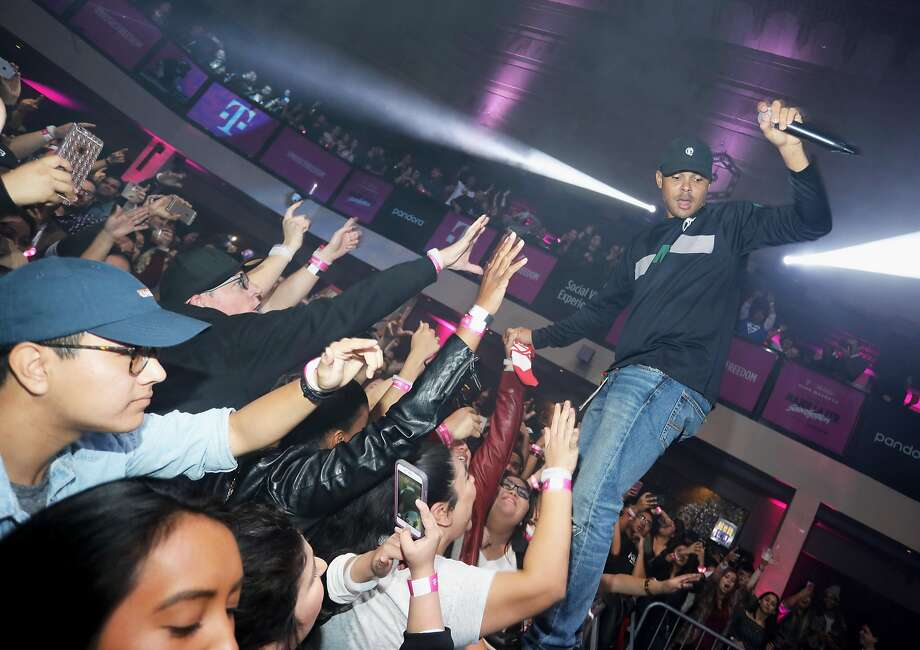 LOS ANGELES, CA - NOVEMBER 20:  DJ Walshy Fire of Major Lazer performs onstage at T-Mobile Club Magenta featuring Major Lazer SoundSystem powered by Pandora at Exchange LA on November 20, 2016 in Los Angeles, California.  (Photo by Rachel Murray/Getty Images for Pandora Media) Photo: Rachel Murray, Getty Images For Pandora Media