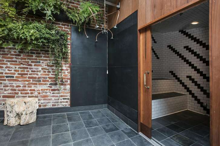 Onsen is a new, Japanese-style bathhouse with a restaurant, soaking tub and massage treatments at 466 Eddy St., the site of a former auto repair shop.