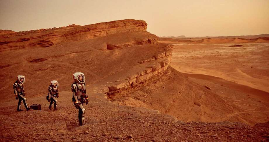 "In the National Geographic Channel series ""Mars,"" astronauts embark on a mission to the Red Planet in the year 2033. Photo: Robert Viglasky / National Geographic Channels"