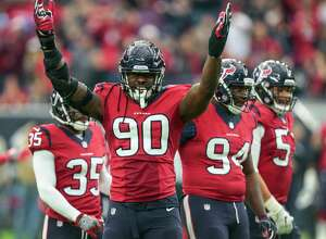 Is he having fun yet? That would be a big yes for Jadeveon Clowney, who had six regular-season sacks.