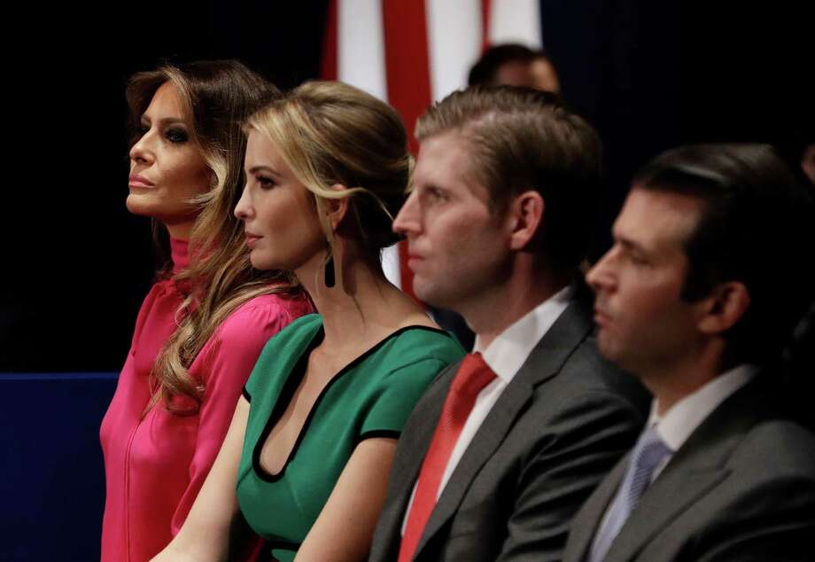 Two fundraising pitches featuring the incoming first family were meant to benefit charities, but they also raised questions that the Trumps might be inappropriately selling access. Photo: John Locher, STF / Copyright 2016 The Associated Press. All rights reserved.