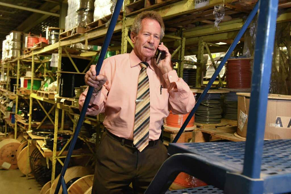 George Nichol who has worked 63 years for Wolberg Lighting u0026 Electrical stands on  sc 1 st  Times Union & Hired at 17 retires at 80 all at Albanyu0027s Wolberg Electric ... azcodes.com