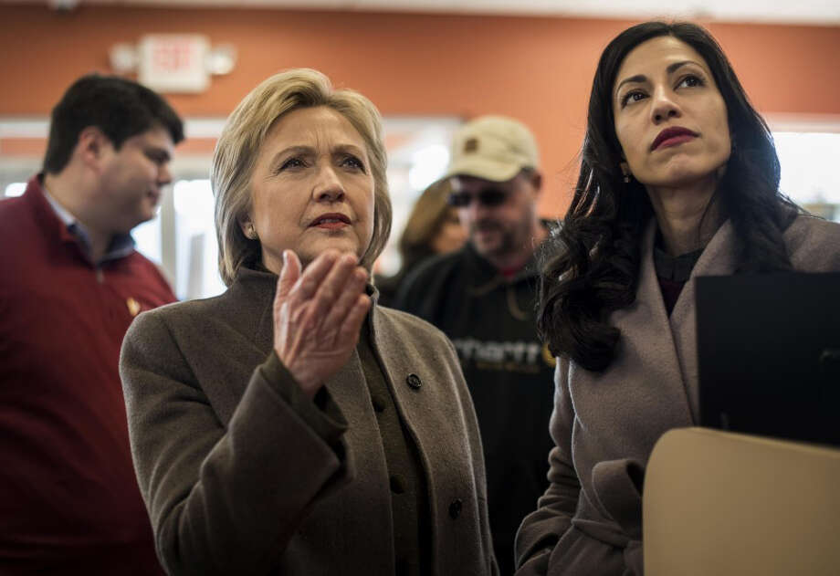 The FBI wanted to see the emails between Hillary Clinton and Huma Abedin, right, her top aide.  Photo: THE WASHINGTON POST / The Washington Post