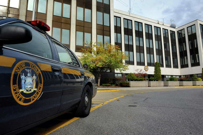 State Police Headquarters on Thursday, Oct. 1, 2015, at Harriman State Office Building Campus in Albany N.Y. (Cindy Schultz/Times Union archive)