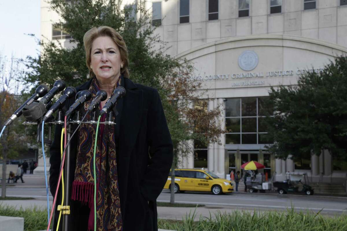 Incoming Harris County District Attorney Kim Ogg said crime victims in at least five cases had contacted her to say prosecutors overseeing their cases had called to say the cases were in jeopardy or defendants were given lenient plea deals.