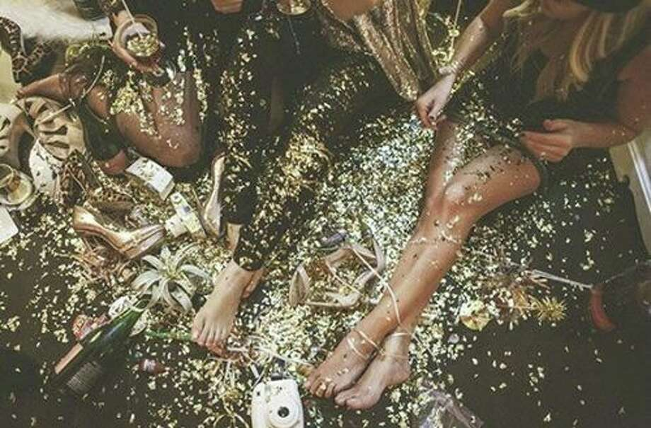 Click through the slideshow to find out where to party in the Capital Region on New Year's Eve.NYE 2017 Glitterati Party. Deck yourself out in sequined or glitter gowns, cocktail dresses, bow ties, jackets, pants, shoes, glasses, hats + masks - sky's the limit. Live music in the Back Bar, featuring MIRK and STELLAR YOUNG. An Indulgence 3-Course NYE Dinner Menu in our Dining Room. AND a Glitterati Party in our Front Bar, complete with a Professional Photographer, Champagne Bar, Open Bar packages + prizes for those who are exceptionally gussied up.When: Saturday, Dec. 31, 8 PM - 1:30 AM. Where: The Hollow Bar + Kitchen, 79 North Pearl St., Albany. For more information, visit the Facebook event page. Photo: The Hollow Bar + Kitchen