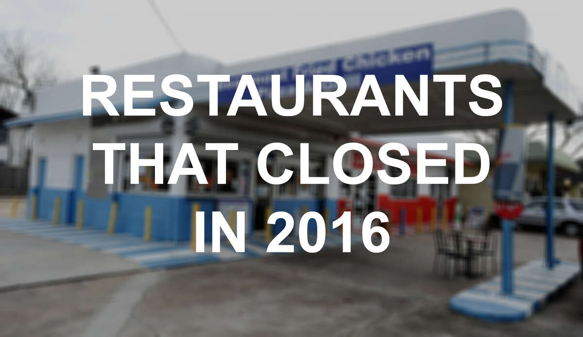 Keep clicking to see the businesses that closed their doors over the course of 2016 in the gallery above.
