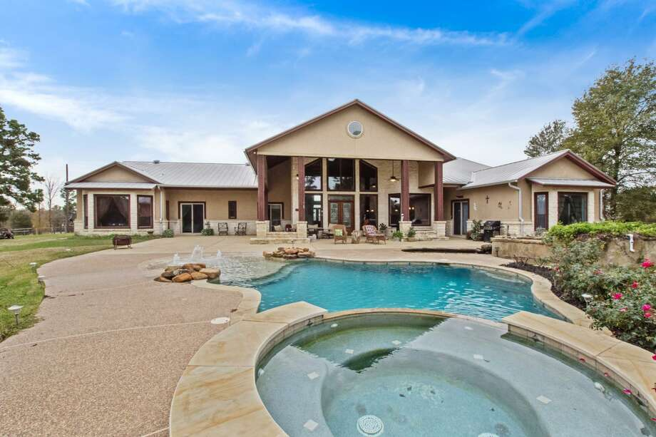 PHOTOS: 50-acre Huntsville ranch for saleThis enormous ranch is full of Texas flavor and is so private, you won't want any blinds on the windows to disrupt your view of the open range. Click through the slideshow to see.  Photo: Susan M. Richard/Top Guns Realty