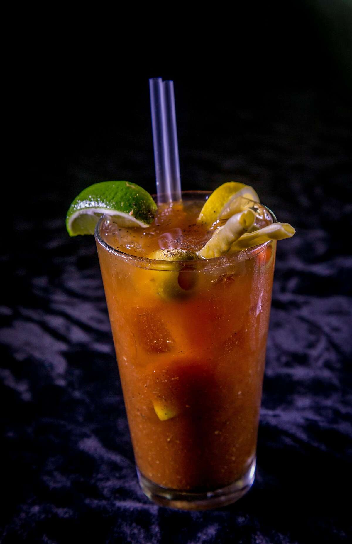 The Zeitgeist Bloody Mary in San Francisco, Calif. is seen on December 20th, 2016.
