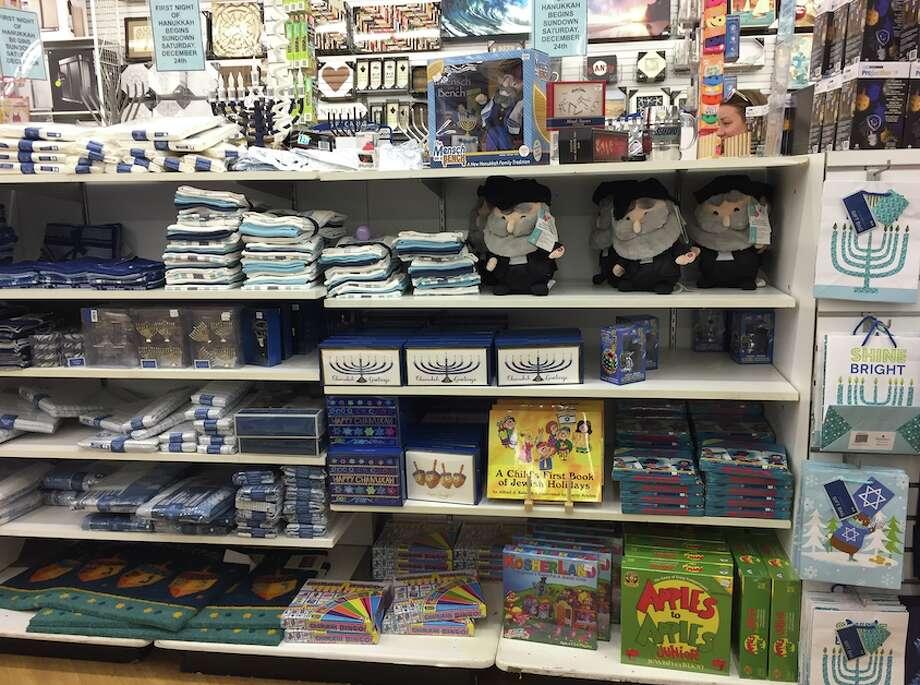 Hanukkah Displays In Stores Sfgate