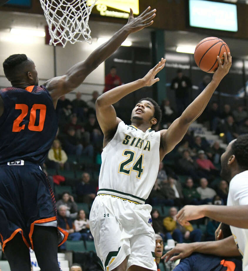 Siena's Lavon Long had 10 points and three assists in 38 minutes against Bucknell last Saturday. (Cindy Schultz/Times Union)