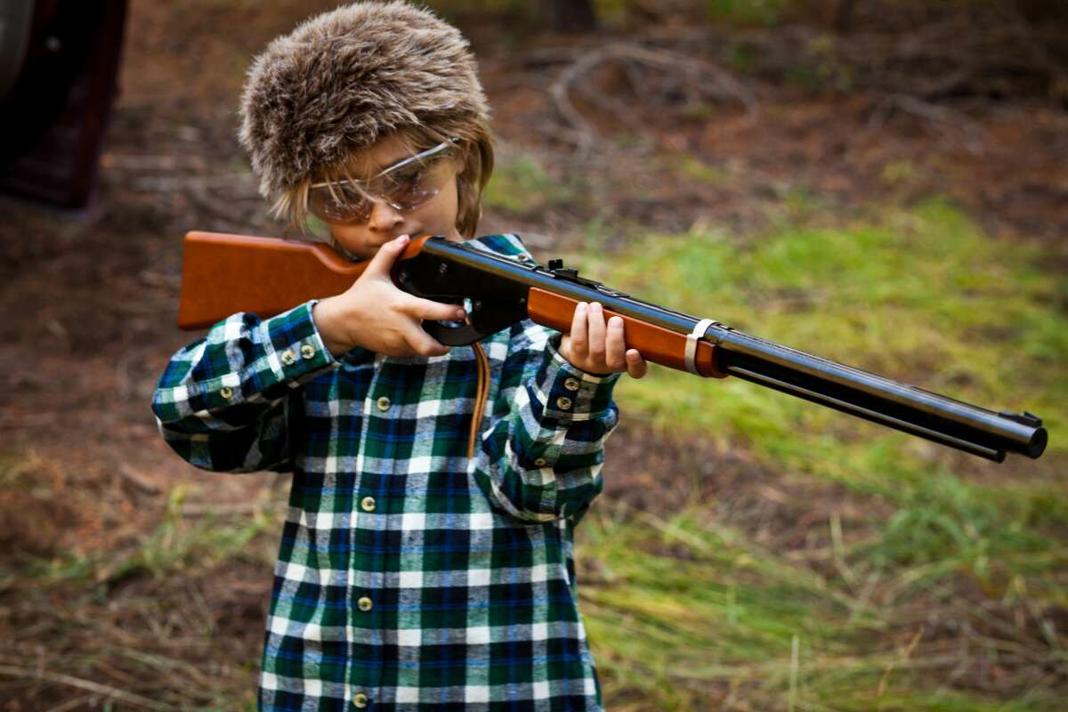PHOTOS: Innocent things from our childhoods that would be offensive now BB guns, peanut butter, and whole milk. It sounds like a recipe for a viral Facebook post. >>>See the things that would get modern families triggered today...