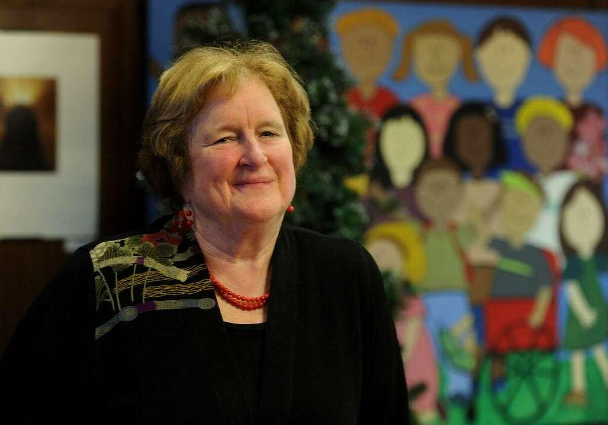Retiring Bridgeport Superintendent of Schools Fran Rabinowitz in her office at Bridgeport City Hall in Bridgeport, Conn. on Wednesday, December 7, 2016.