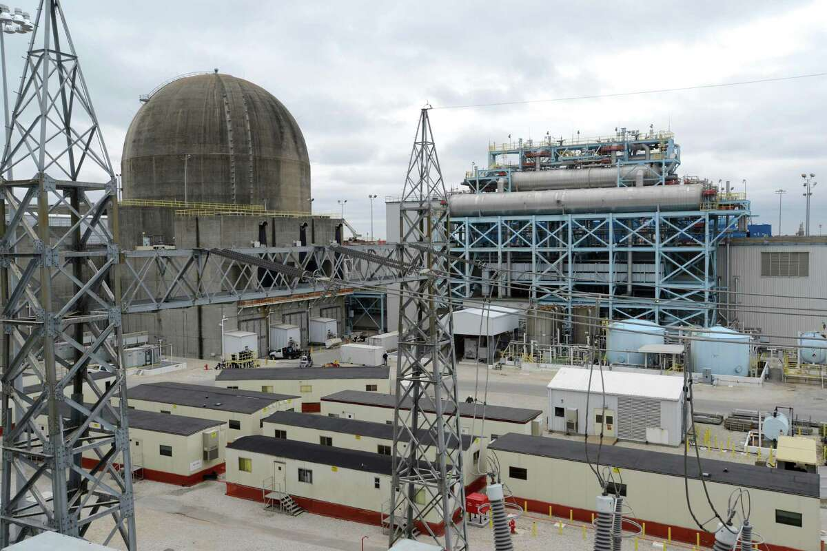 Reactor one of the South Texas Project nuclear power plant is seen on Friday, Dec. 6, 2013.