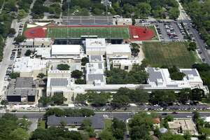 Alamo Heights High School is seen in this aerial photo. The school district should keep its 24 Hour Code of leadership.