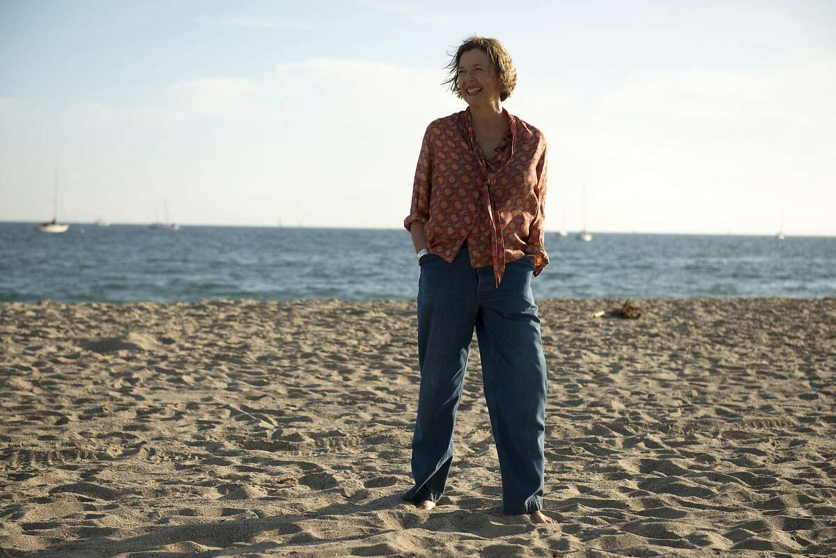 """This image released by A24 shows Annette Bening in """"20th Century Woman."""" The film was nominated for a Golden Globe award for best motion picture musical or comedy on Monday, Dec. 12, 2016. The 74th Golden Globe Awards ceremony will be broadcast on Jan. 8, on NBC. (Gunther Gampine/A24 via AP)"""