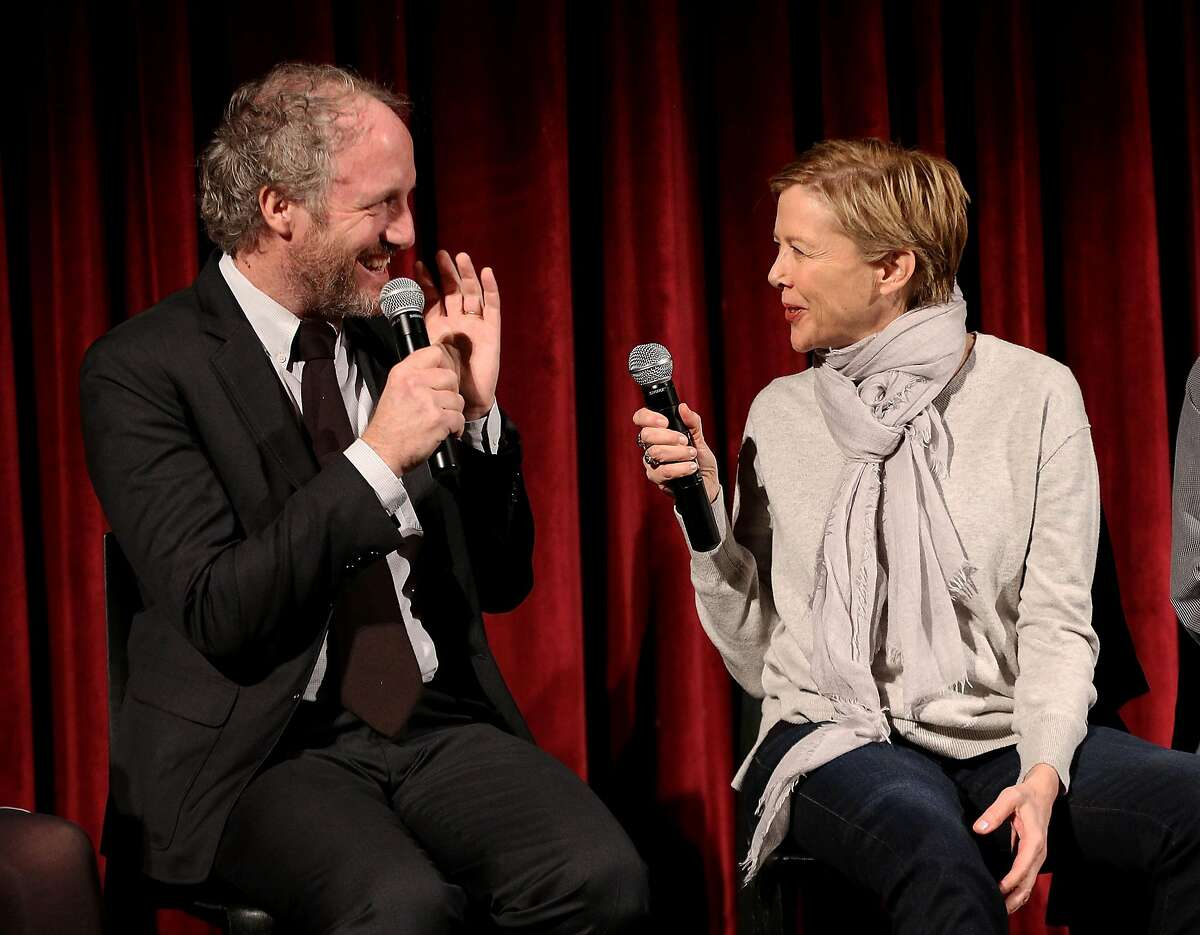 NEW YORK, NY - DECEMBER 04: Director Mike Mills and actor Annette Bening attend The Academy of Motion Picture Arts and Sciences Hosts an Official Academy Screening of 20TH CENTURY WOMEN at MOMA - Celeste Bartos Theater on December 4, 2016 in New York City. (Photo by Robin Marchant/Getty Images for Academy of Motion Picture Arts and Sciences)