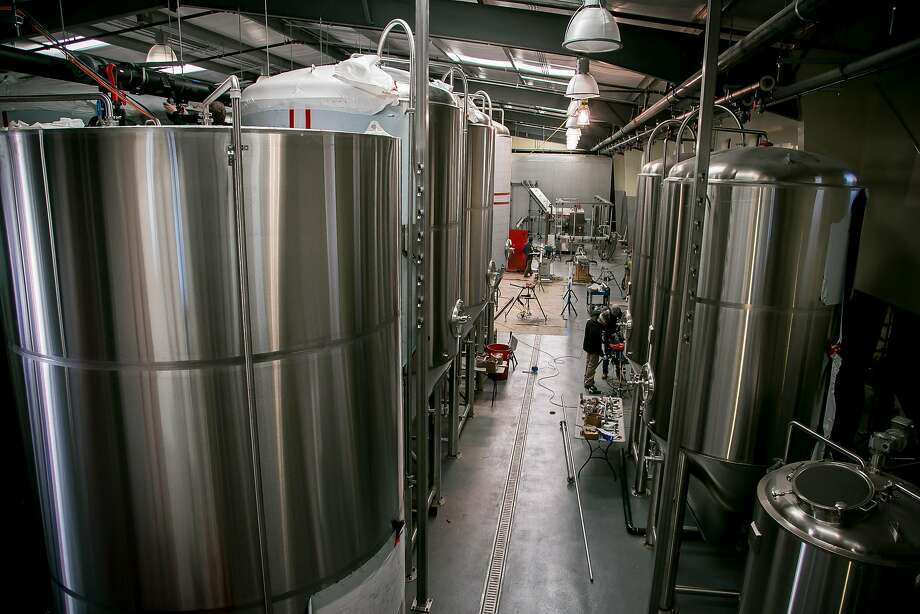 The interior of the Seismic Brewery in Santa Rosa, Calif. is seen on December 1st, 2016. Photo: John Storey, Special To The Chronicle