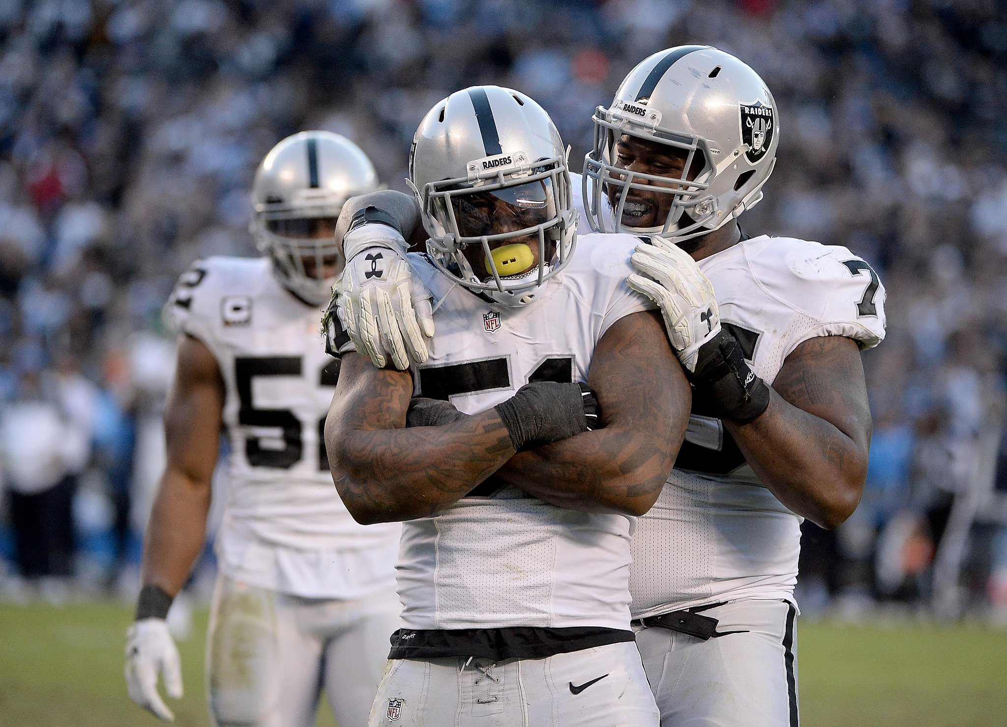 Raiders Irvin making impact in season s final weeks SFGate