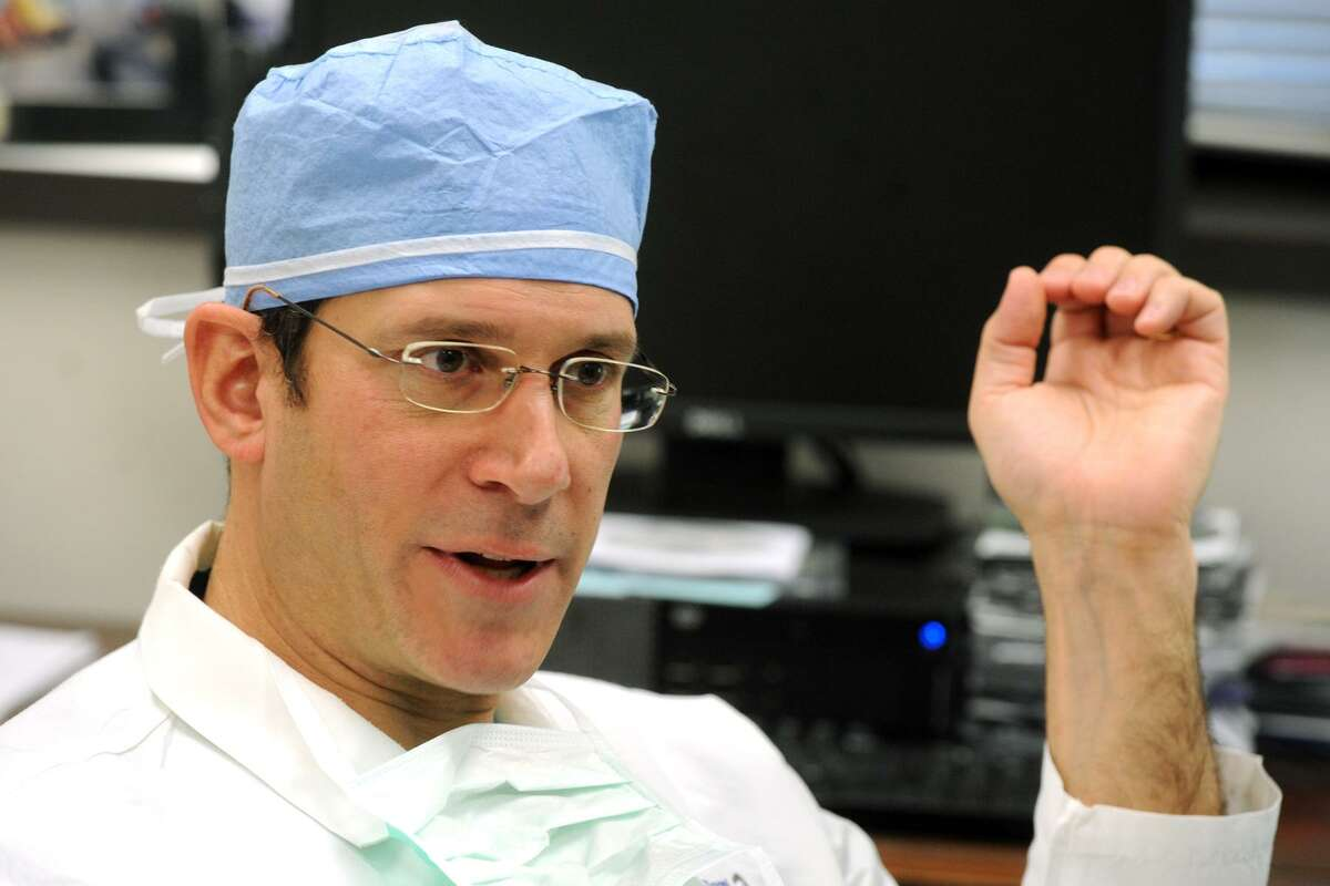 Dr. Rafael Squitieri, chief of cardiothoracic surgery at St. Vincentt's Medical Center, in Bridgeport.