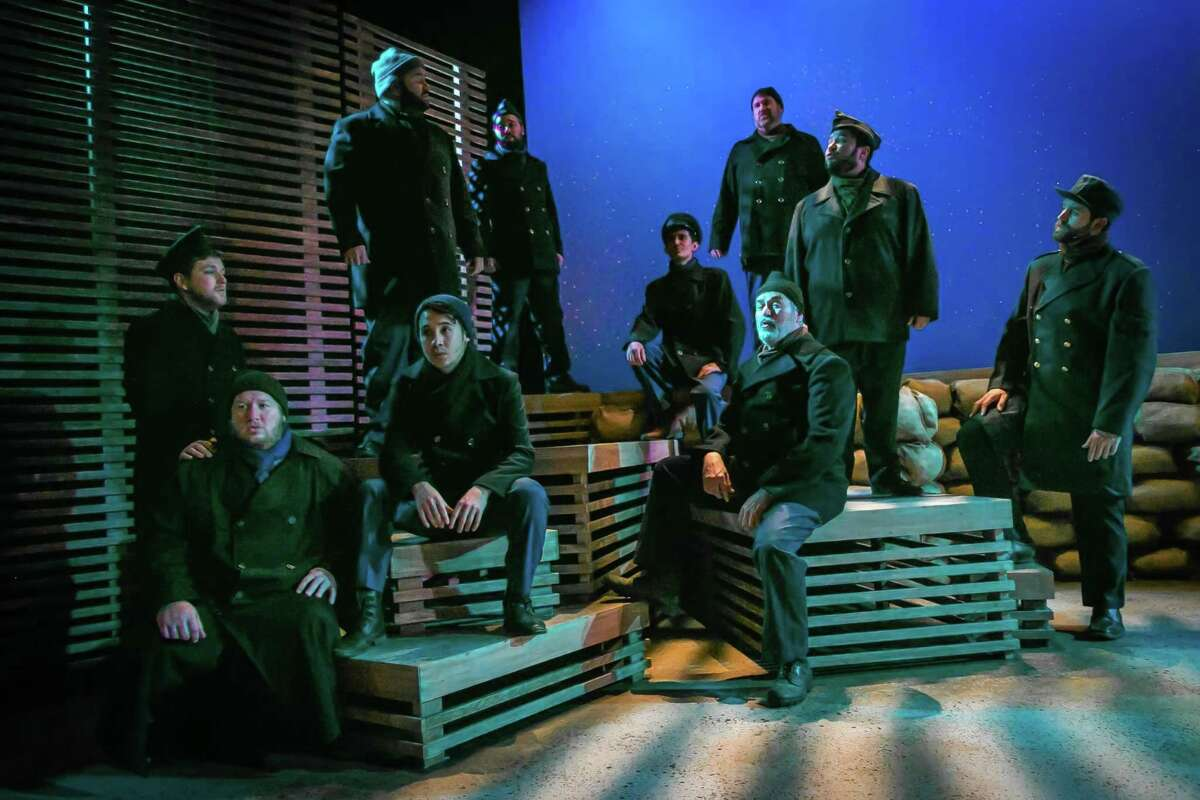 """The Public Theater of San Antonio is once again staging """"All is Calm: The Christmas Truce of 1914"""" in December, but will be moving it to the Buena Vista Theatre on the downtown campus of the University of Texas at San Antonio in December."""