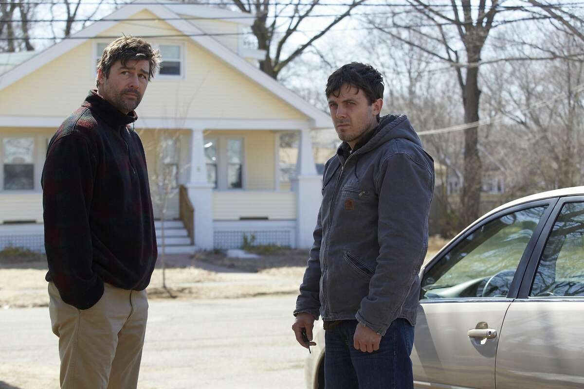 """Kyle Chandler and Casey Affleck in """"Manchester by the Sea."""" (Claire Folger/Sundance Institute)"""