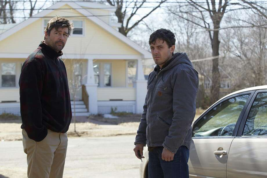 "Kyle Chandler (left) and Casey Affleck in ""Manchester by the Sea."" Photo: Claire Folger/Sundance Institute, TNS"