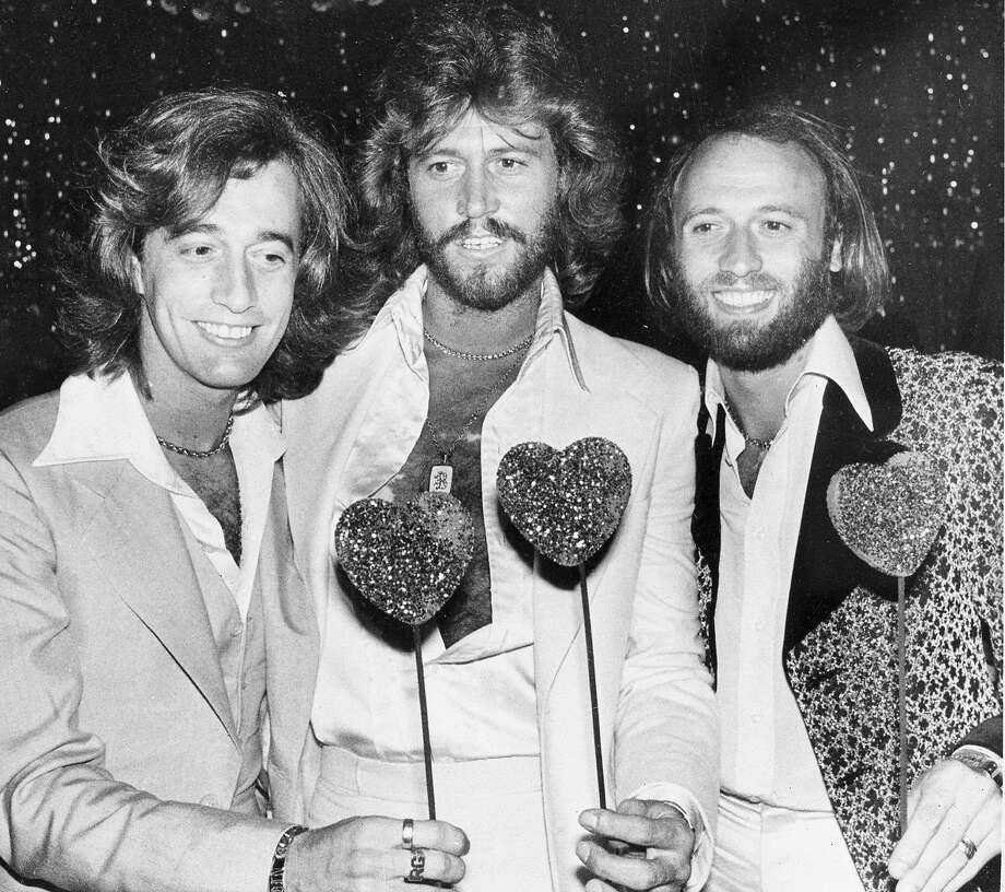 """The Bee Gees: They made the title of """"Saturday Night Fever"""" evocative. Photo: LENNOX MCLENDON, AP"""