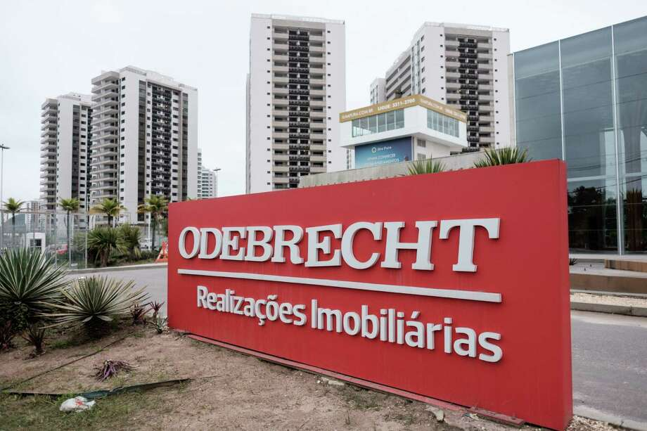 Odebrecht is at the center of a mushrooming probe at state-run oil giant Petrobras, which has ensnared Brazilian politicians and businesspeople across the board. Photo: YASUYOSHI CHIBA, Staff / AFP or licensors