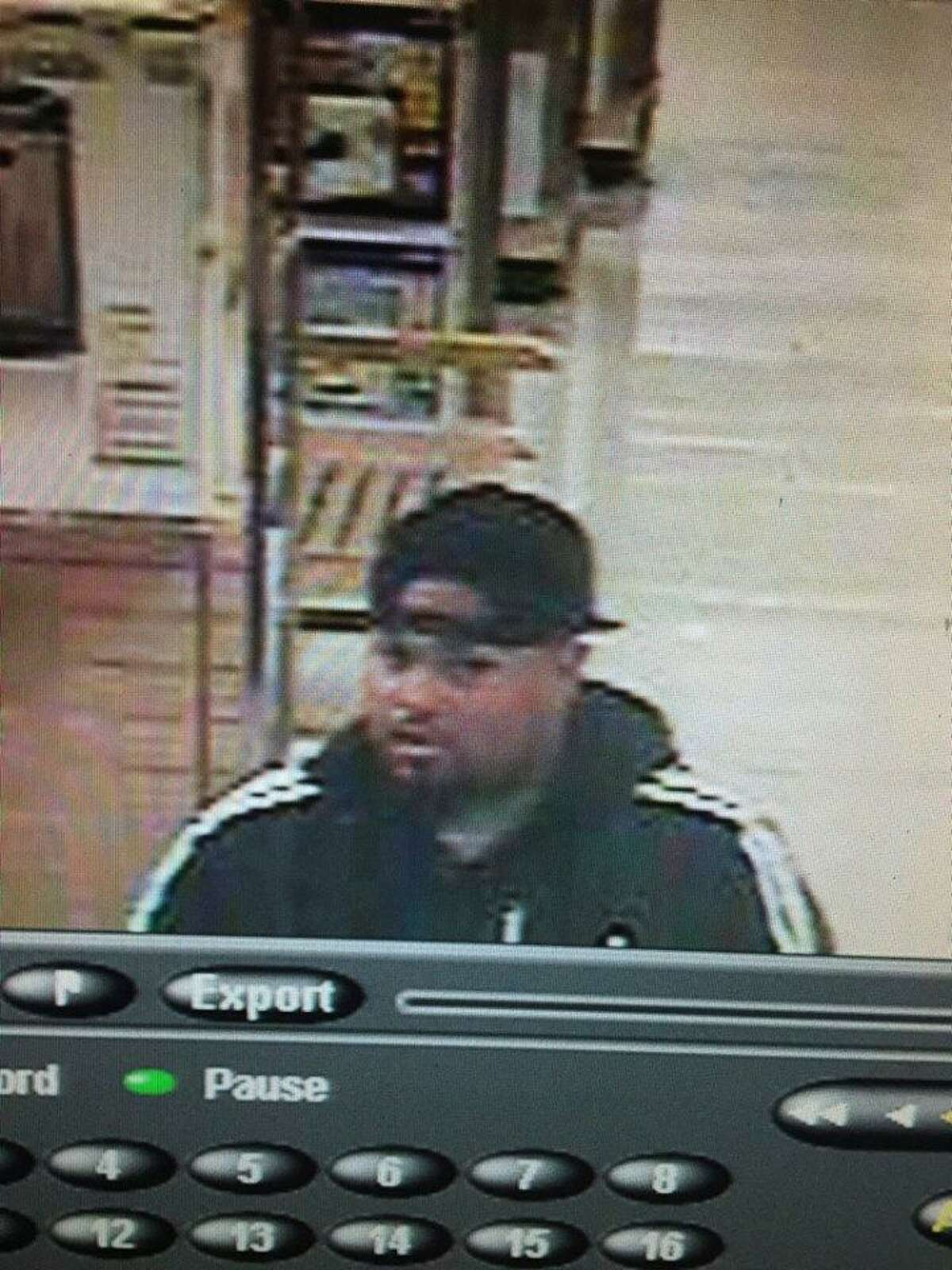 Police are asking the public's help in identifying the suspect as they continue their search.