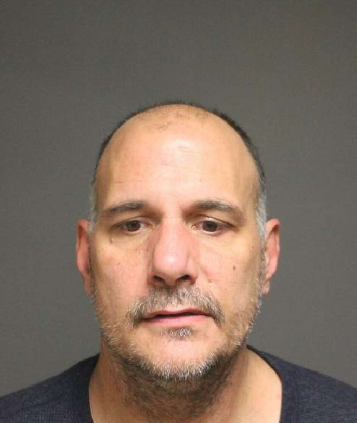 Anthony Macaluso, 49, of Shelton, was charged with sixth-degree larceny in Fairfield, Conn. on Dec. 17, 2016.
