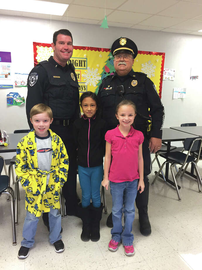 On Tuesday, the Glen Carbon Elementary School held a special luncheon to recognize the efforts of first responders in Glen Carbon and Mayor Rob Jackstadt. Lieutenant Wayne White, Sergeant James Jones, and Officer Andrew Parker all attended the luncheon along with members of the Glen Carbon Fire and Rescue Team and Mayor Jackstadt.  All attendees sat and ate with students from Glen Carbon School. Photo: For The Intelligencer