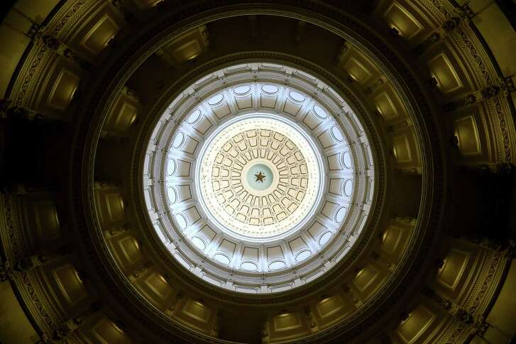 The rotunda at the Texas Capitol is seen Wednesday, Oct. 12, 2016, in Austin.