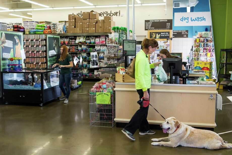 Customers browse at the Pet Supplies Plus in Katy. The Buchel family plans to open two more stores in the Houston area by 2018. Photo: Brett Coomer, Staff / © 2016 Houston Chronicle