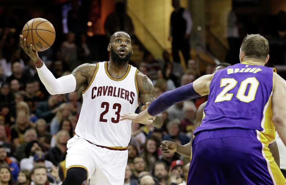 Cleveland Cavaliers' LeBron James likes to begin his exercise routine at 5 a.m. - even during the off season. Photo: Tony Dejak, STF / AP 2016
