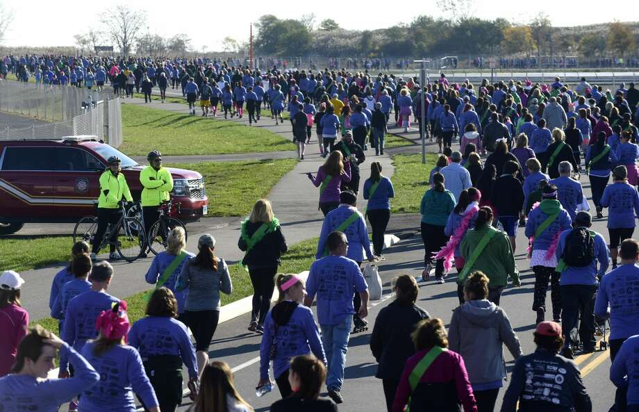 The Fourth Annual Vicki Soto 5k road race will take place in Stratford on Saturday in commemorating the life of the teacher who lost her life protecting her students at Sandy Hook Elementary School on December 14, 2012. Find out more. Photo: Erik Trautmann/Hearst Connecticut Media