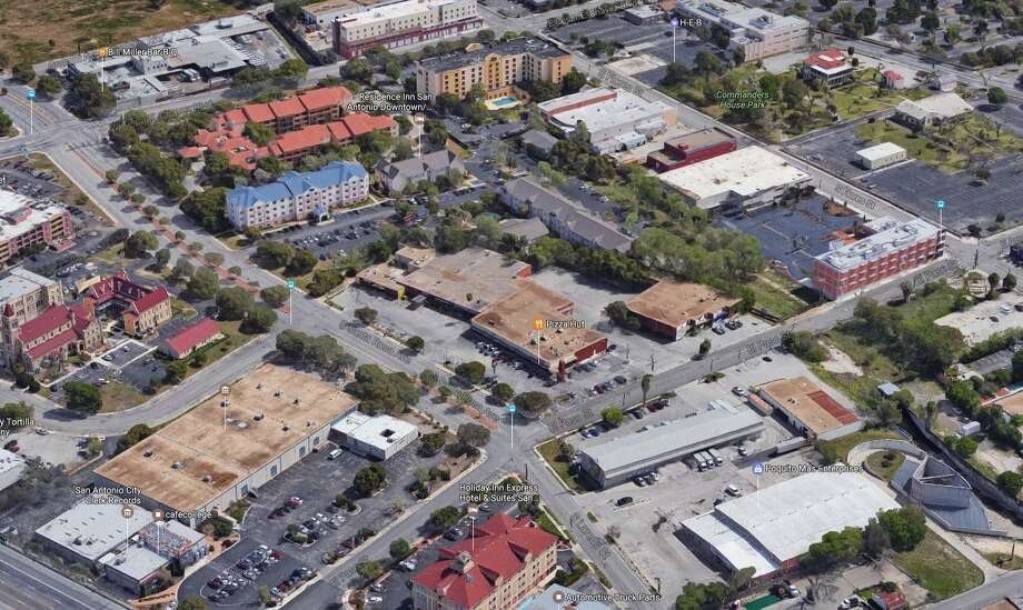 A company linked to Hixon Properties bought an aging 2.9-acre retail center in Southtown last week. Photo: Google Maps /