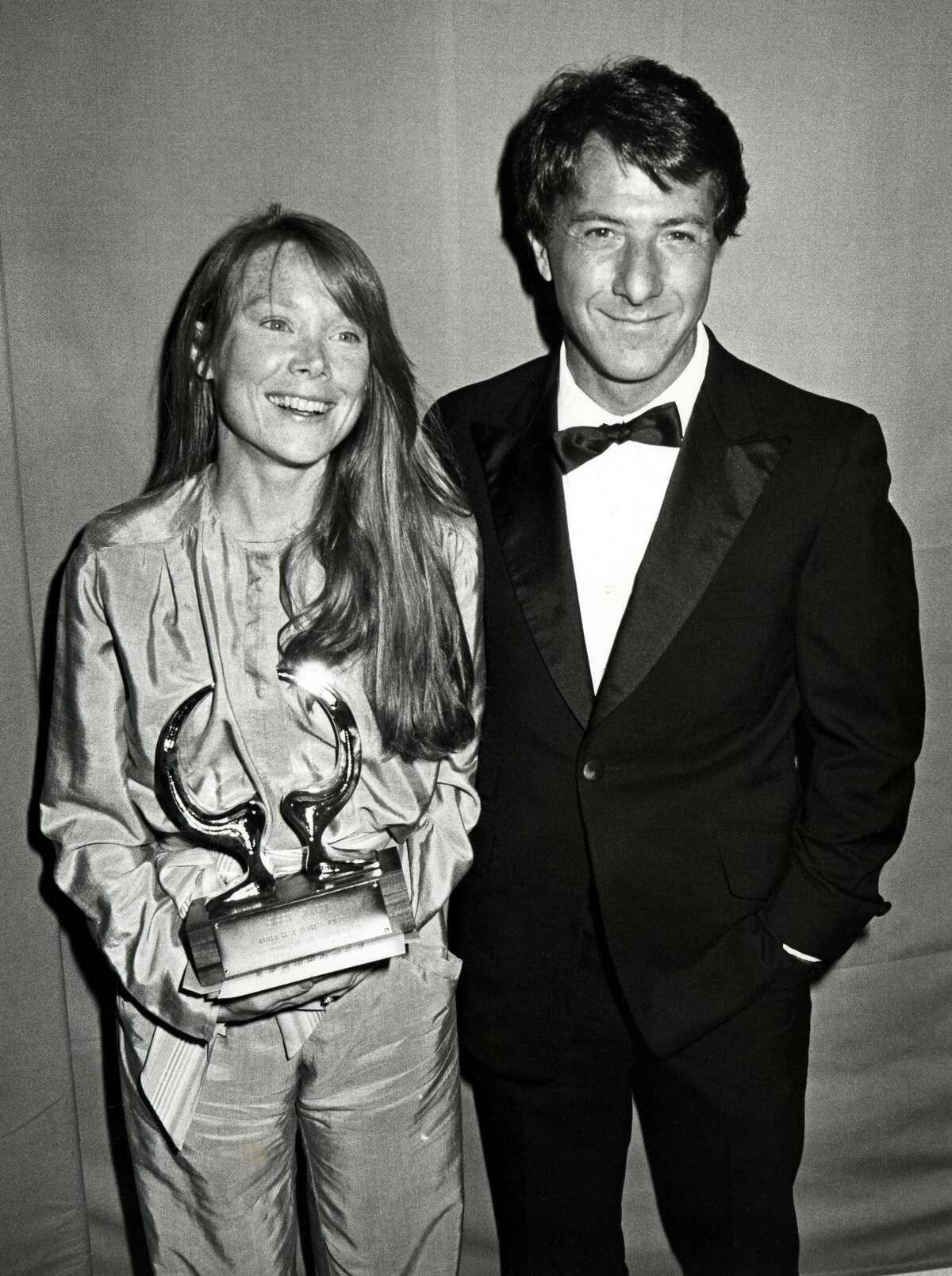 Sissy Spacek and Dustin Hoffman