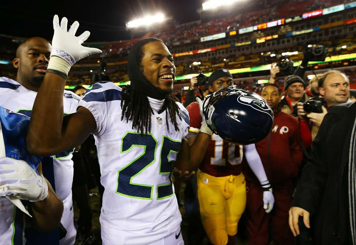 Capital offense Following a Seahawks playoff victory in Washington, D.C. in January 2013, Sherman was confronted by Redskins tackle Trent Williams, who punched Sherman in the face (really, it was kind of a slap) after Sherman apparently challenged him to do just that. Williams apologized after the game, but Sherman cemented his reputation as an agitator.