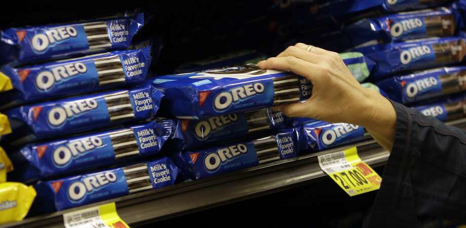Click ahead to see the latest Oreo flavors for 2017.  Photo: Uncredited, Associated Press
