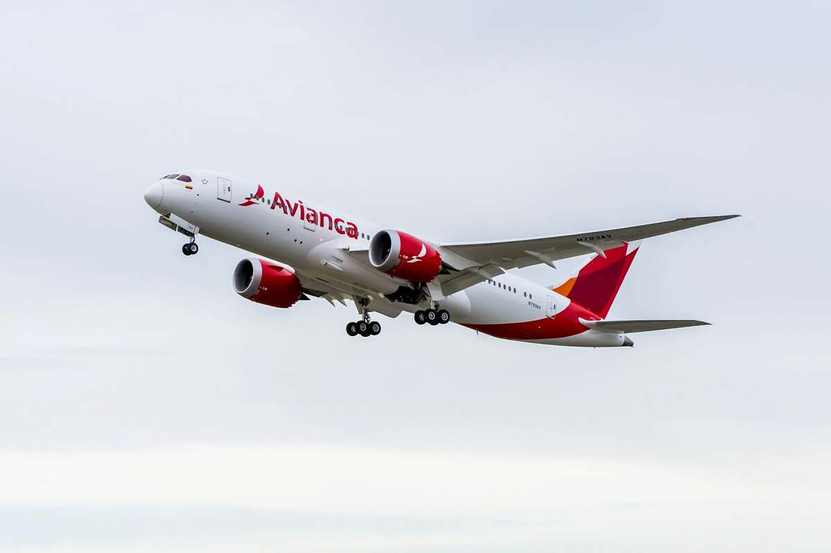 Boeing on Thursday delivered the 500th 787 Dreamliner, a 787-8 to Avianca, marking another milestone in the program's history. The airplane is seen here taking off from Boeing's Everett Delivery Center.