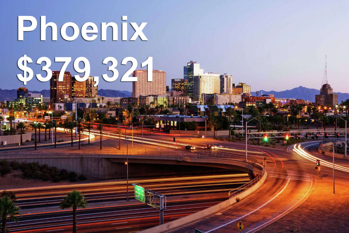 Phoenix, AZ Income required to be in the top 1%: $379,321Median household income: $47,326 Gap: $331,995