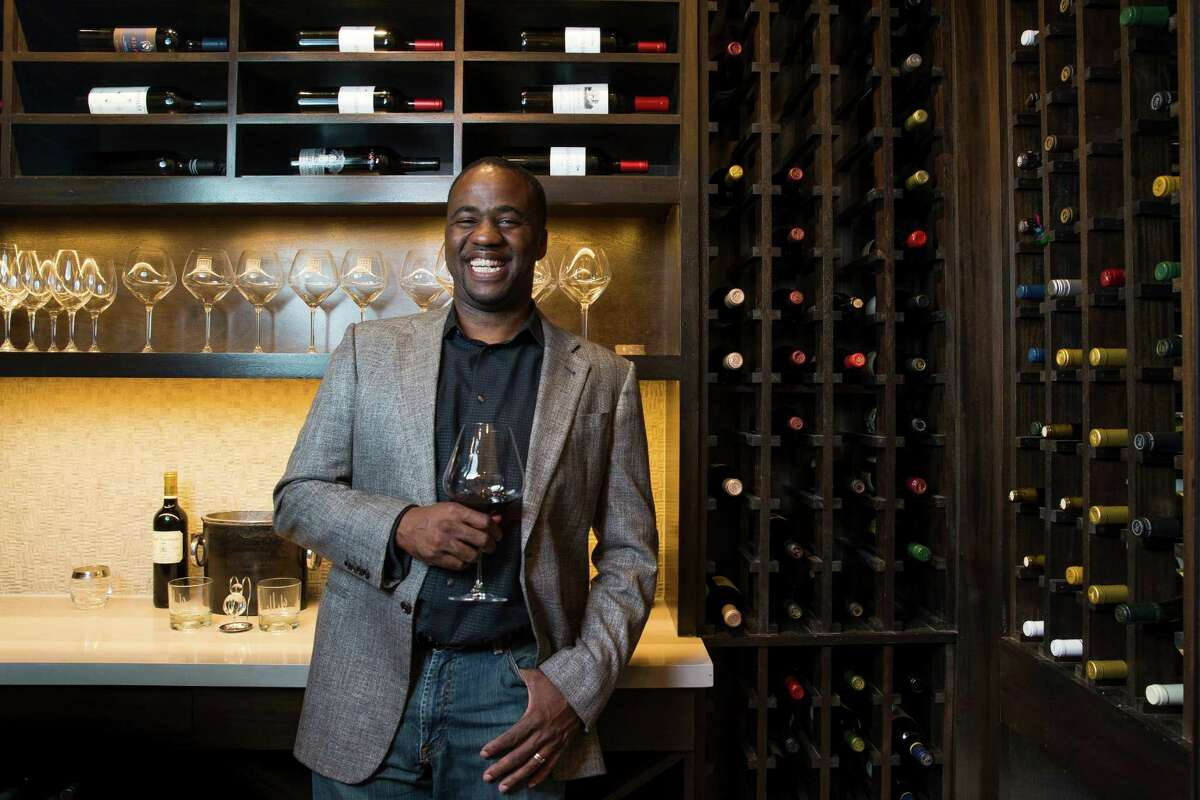Jay Lewis opted for a wine room at his builder's suggestion, and it prompted him to take up a new hobby -- wine tasting and collecting.