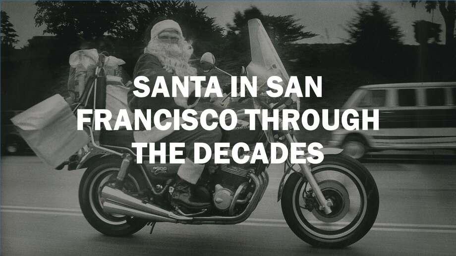 Here's a look at Santa's most SF sightings.