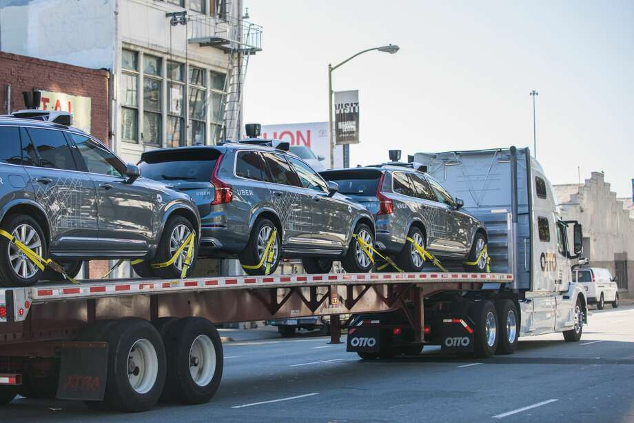 Uber is moving its self-driving pilot to Arizona, after the California Department of Motor Vehicles ordered the autonomous vehicles off the roads in San Francisco. Photo: Uber