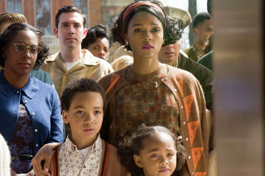 """Janelle Monáe """"Hidden Figures"""" Photo: Photo Credit: Hopper Stone SMPSP / TM & © 2016 Twentieth Century Fox Film Corporation.  All Rights Reserved.  Not for sale or duplication."""
