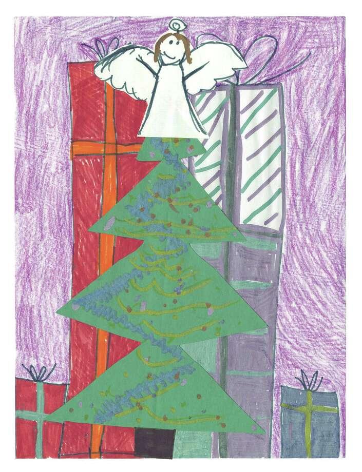 Grand-prize winner Hallie Czajka, a third-grader at Pine Bush Elementary in the Guilderland Central School District