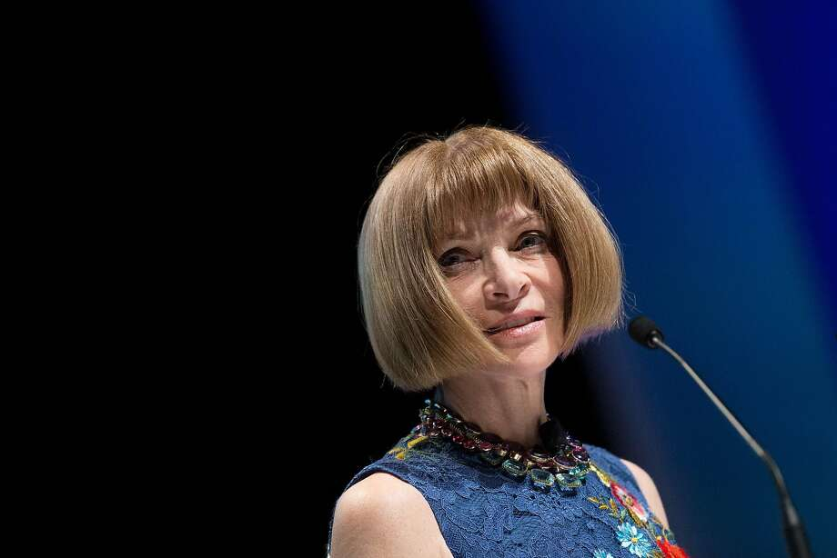 Vogue Editor in Chief Anna Wintour praised Teen Vogue's digital coverage. Photo: Christophe Morin, Bloomberg